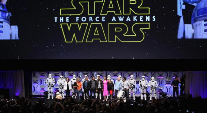 'Star Wars: The Force Awakens' Was A Huge Success, So What Happened To Disney's Stock?