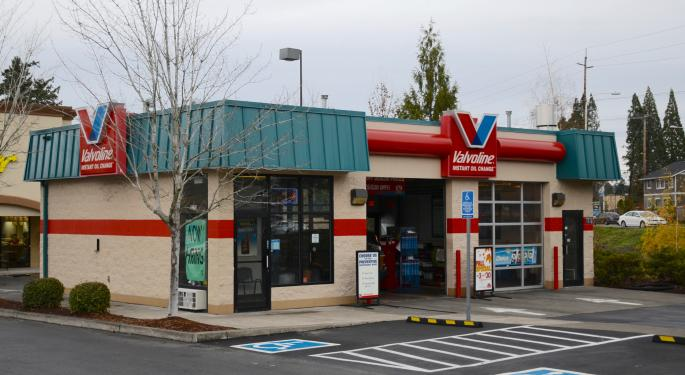 Valvoline Gets Analysts' Engines Revving, Citi Initiates At Buy