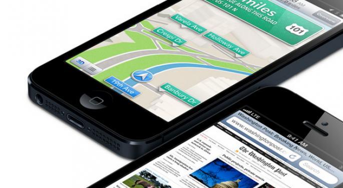 iPhone 5 Won't Help 4G Market Soar