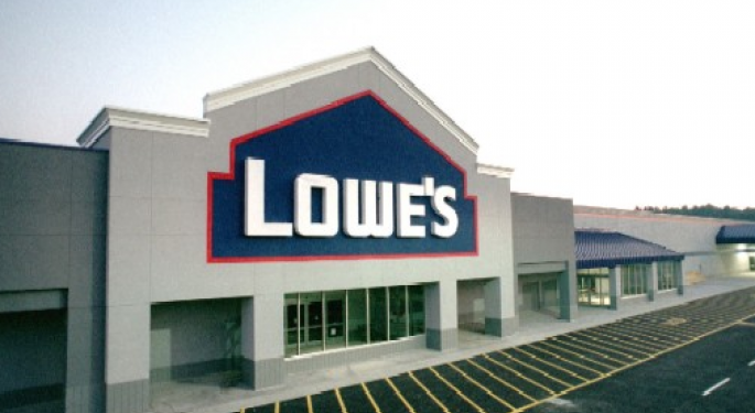 Lowe's 2Q Numbers Disappoint