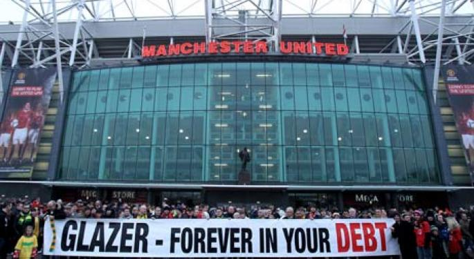 Manchester United Scores $233 Million in IPO