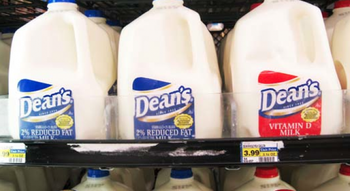 Dean Foods Up on Earnings and WhiteWave IPO