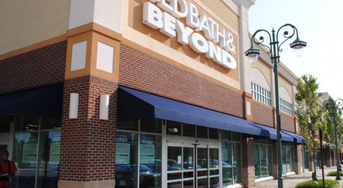 Bed Bath & Beyond Sharply Lower After Q2 Results