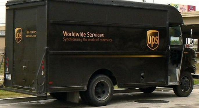 UPS Guides Lower, Sees Asia Weakness and More Uncertainty