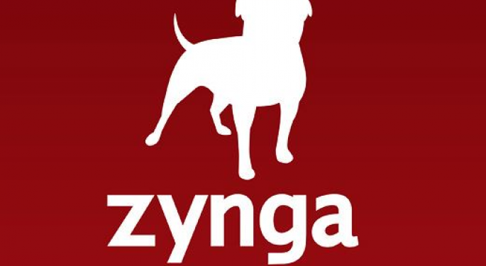 Zynga Shares Fall as Another Exec Leaves